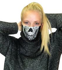 Natūralaus lino daugkartinė veido kaukė, L/XL, 1 vnt. kaina ir informacija | Pirmoji pagalba | pigu.lt