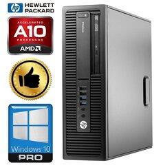 HP 705 G2 SFF A10 PRO-8750B 4GB 480SSD+2TB GTX1050Ti 4GB WIN10Pro kaina ir informacija | Stacionarūs kompiuteriai | pigu.lt