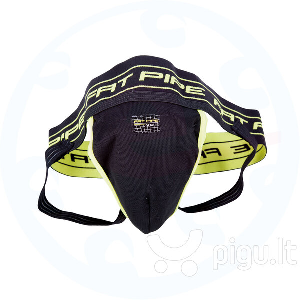Bandažas Fat Pipe GK-JOCK Strap SR, juodas kaina ir informacija | Grindų ir žolės riedulys | pigu.lt