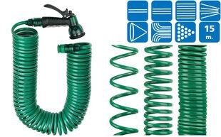 Spiralinė žarna su jungtimis Super Ego (15 m) kaina ir informacija | Mechaniniai įrankiai | pigu.lt