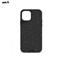 Mous Air-Shock Extreme Protection Back Cover Case for iPhone 12 / 12 Pro with real Speckled leather Black kaina ir informacija | Telefono dėklai | pigu.lt
