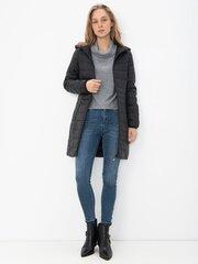 Paltas moterims Vero Moda 10230855, juodas kaina ir informacija | Paltai moterims | pigu.lt