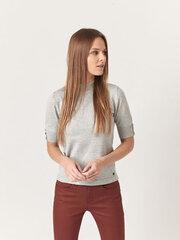 Megztinis moterims Monton, pilkas kaina ir informacija | Megztiniai moterims | pigu.lt