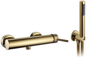 Товар с повреждённой упаковкой. 2 dalių vonios maišytuvas REA Lungo Light Gold цена и информация | Товар с повреждённой упаковкой. 2 dalių vonios maišytuvas REA Lungo Light Gold | pigu.lt