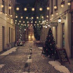 Lauko lempučių girlianda, apskritos, 23m, 20 lempučių kaina ir informacija | Girliandos | pigu.lt