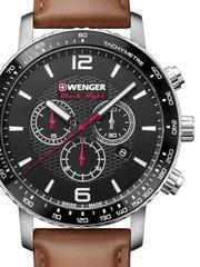 Laikrodis vyrams Wenger 01.1843.104 цена и информация | Мужские часы | pigu.lt