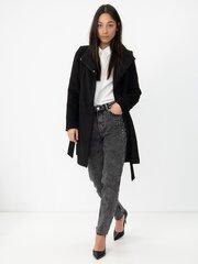 Paltas moterims Vero Moda 10237744, juodas kaina ir informacija | Paltai moterims | pigu.lt