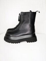 Aulinukai moterims 34323-55, juodi kaina ir informacija | Aulinukai, ilgaauliai batai moterims | pigu.lt