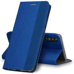 Dėklas telefonui SENSITIVE book skirtas Samsung Galaxy A70, mėlyna kaina ir informacija   Telefono dėklai   pigu.lt