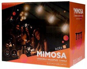 Lauko girlianda Mimosa 20xE27 10m IP44 juoda kaina ir informacija | Lauko girlianda Mimosa 20xE27 10m IP44 juoda | pigu.lt