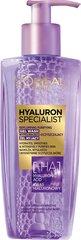 Gelinis veido prausiklis L'Oreal Paris Hyaluron Specialist, 200 ml kaina ir informacija   Gelinis veido prausiklis L'Oreal Paris Hyaluron Specialist, 200 ml   pigu.lt