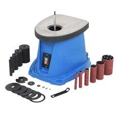 Besisukančio veleno šlifuoklis, 450w, mėlynas kaina ir informacija | Mechaniniai įrankiai | pigu.lt