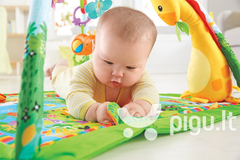 Lavinamasis kilimėlis Fisher Price Rainforest Melodies & Lights Deluxe