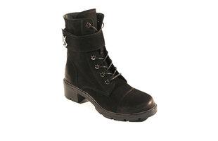 Aulinukai moterims Damilax, juodi kaina ir informacija | Aulinukai, ilgaauliai batai moterims | pigu.lt