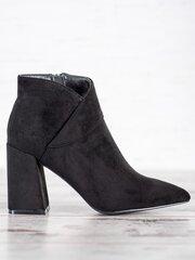 Aulinukai moterims Goodin, juodi kaina ir informacija | Aulinukai, ilgaauliai batai moterims | pigu.lt