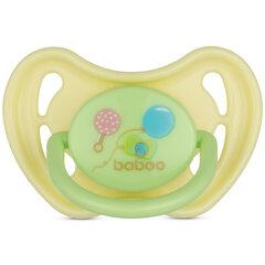 Baboo lateksinis apvalus čiulptukas, 0+ mėn, Baby Shower kaina ir informacija | Čiulptukai | pigu.lt
