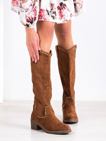Ilgaauliai batai moterims POL68939/45 kaina