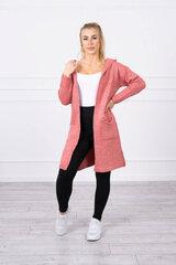 Kardiganas moterims, rožinis kaina ir informacija | Megztiniai moterims | pigu.lt