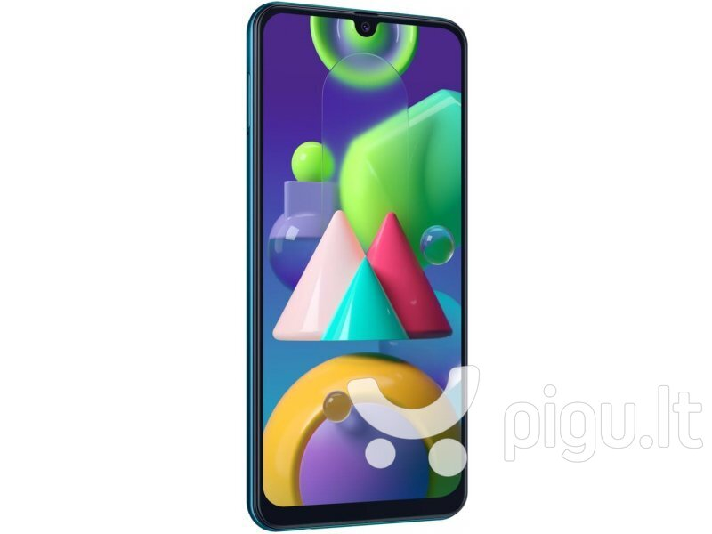 Samsung Galaxy M21, 64GB, Dual SIM, Green internetu