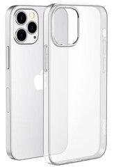Hallo Ultra Back Case 0.3mm Silikoninis telefono dėklas Apple iPhone 12 / iPhone 12 Pro, Skaidrus kaina ir informacija | Hallo Ultra Back Case 0.3mm Silikoninis telefono dėklas Apple iPhone 12 / iPhone 12 Pro, Skaidrus | pigu.lt