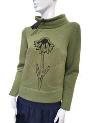 Džemperis moterims Jakas, žalias kaina ir informacija | Džemperiai moterims | pigu.lt