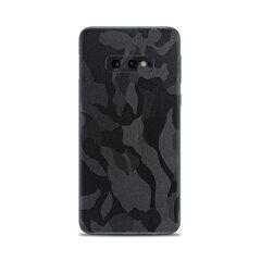 Korpuso apsauginė plėvelė- skin, Samsung Galaxy S10 E, Shadow black, Back only kaina ir informacija | Telefono dėklai | pigu.lt