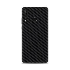 Korpuso apsauginė plėvelė- skin, Huawei P30 Lite, Carbon black, Full Wrap Back kaina ir informacija | Telefono dėklai | pigu.lt