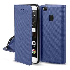 Hallo Smart Magnet Book Case, skirta Xiaomi Mi Note 10 Lite, mėlyna kaina ir informacija | Telefono dėklai | pigu.lt