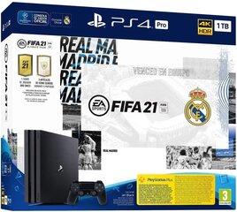 Playstation 4 Pro Fifa Real Madrid Editiion kaina ir informacija | Playstation 4 Pro Fifa Real Madrid Editiion | pigu.lt