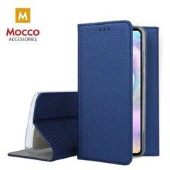 Mocco Smart Magnet Book Case For Xiaomi Mi 10 / Mi 10 Pro Blue kaina ir informacija | Telefono dėklai | pigu.lt