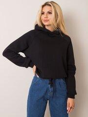 Džemperis moterims Nicole, juodas kaina ir informacija | Megztiniai moterims | pigu.lt