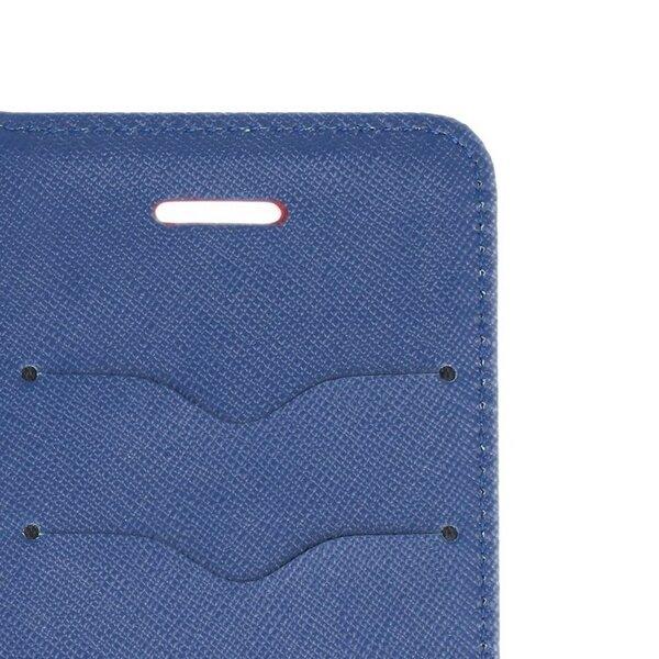 Mocco Fancy Book Case For Samsung Galaxy A42 5G Sarkans - Blue internetu