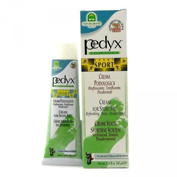 Pėdų kremas, dezodorantas aktyviai sportuojantiems Natura House Pedyx 100 ml