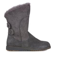 Aulinukai moterims EMU Australia Anda Charcoal Adult, pilki kaina ir informacija   Aulinukai, ilgaauliai batai moterims   pigu.lt