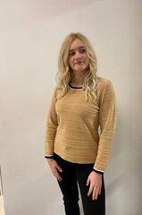 Megztinis moterims Eugen Klein, rudas kaina ir informacija | Megztiniai moterims | pigu.lt