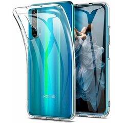 Telefono dėklas Fusion Ultra Back Huawei Honor 20 Pro,1mm skaidrus kaina ir informacija | Telefono dėklai | pigu.lt