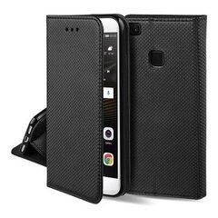 Hallo Smart Magnet Book Case Knygų telefono dėklas Samsung A805 / A905 Galaxy A80 / A90 Juoda kaina ir informacija | Telefono dėklai | pigu.lt
