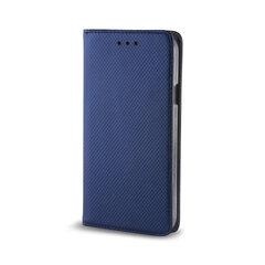 Telefono dėklas Smart Magnet, skirtas Xiaomi Redmi Note 9T 5G, tamsiai mėlynas kaina ir informacija | Telefono dėklai | pigu.lt