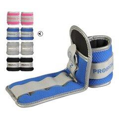 Утяжелители для рук и ног Proiron PRO-FZSD01-2, 2x1 кг цена и информация | Грузы, гантели, грифы | pigu.lt