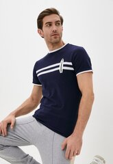 Marškinėliai vyrams Karl Lagerfeld, mėlyni kaina ir informacija | Vyriški marškinėliai | pigu.lt