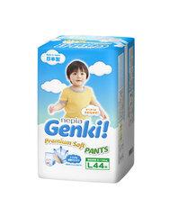 Japoniškos sauskelnės-kelnaitės Genki! Premium Soft L 9-14 kg, 44 vnt. kaina ir informacija | Sauskelnės | pigu.lt