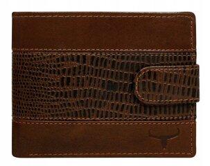 Natūralios odos piniginė vyrams Buffalo Wild, ruda kaina ir informacija | Natūralios odos piniginė vyrams Buffalo Wild, ruda | pigu.lt