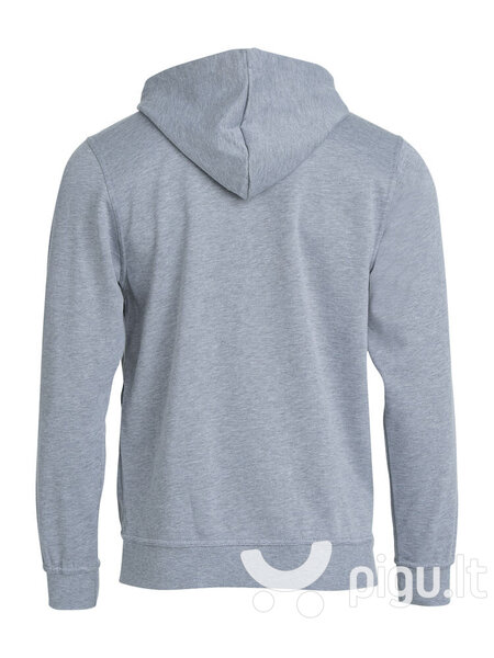 Džemperis vyrams Clique Basic Hoody grey melange kaina