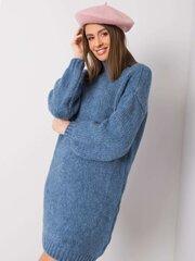 Megztinis moterims, mėlynas kaina ir informacija | Megztiniai moterims | pigu.lt