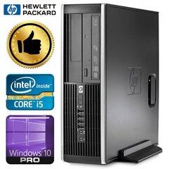 HP 8100 Elite SFF i5-650 8GB 120SSD DVD WIN10PRO/W7P kaina ir informacija | Stacionarūs kompiuteriai | pigu.lt