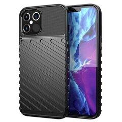 Telefono dėklas Tunder skirtas Samsung Galaxy A51, juodas kaina ir informacija | Telefono dėklai | pigu.lt