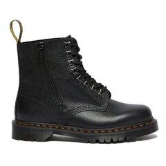 Aulinukai moterims Dr. Martens 1460 Pascal Zip Black Leo 26583001, juodi kaina ir informacija | Aulinukai, ilgaauliai batai moterims | pigu.lt
