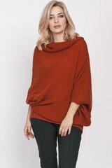 Megztinis moterims MKM 138936, raudonas kaina ir informacija | Megztiniai moterims | pigu.lt