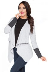 Megztinis moterims RaWear 71279, pilkas kaina ir informacija | Megztiniai moterims | pigu.lt