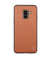 Tellur skirtas Samsung Galaxy A8, rudas kaina ir informacija | Telefono dėklai | pigu.lt
